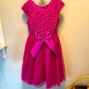 Beautiful Jona Michelle pink Formal Dress girls size 8